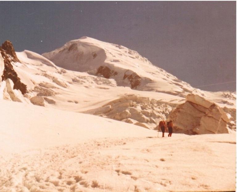 MontBlanc Cerca de Grand Mulets