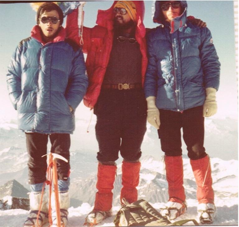 MontBlanc Cumbre Con Fran y Manolo
